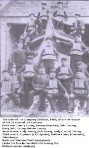 Crew of the Cloghy Lifeboat
