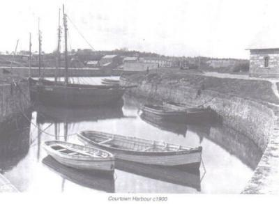 Courtown Harbour. 1900