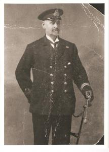 Lieut. William Lewis Ost RN, and Coastguard